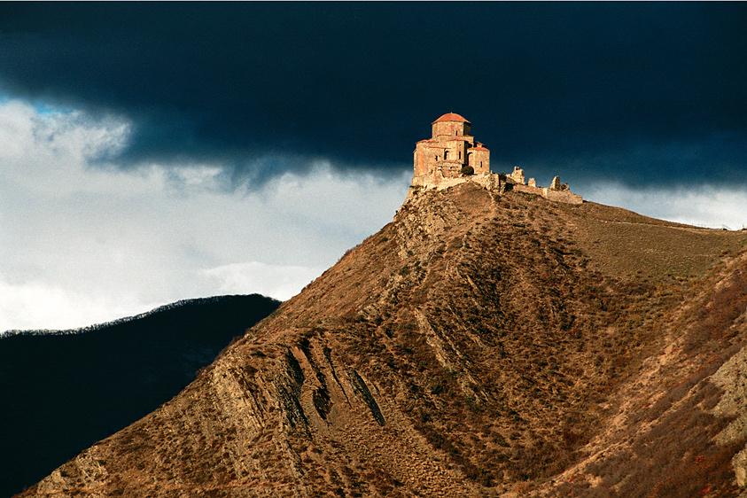 место локализации фото монастыря джвари решил